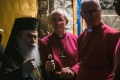 Archbishop Justin Welby and Patriarch Theophilos III at Church of Nativity in Bethlehem - Primates' Meeting 2020