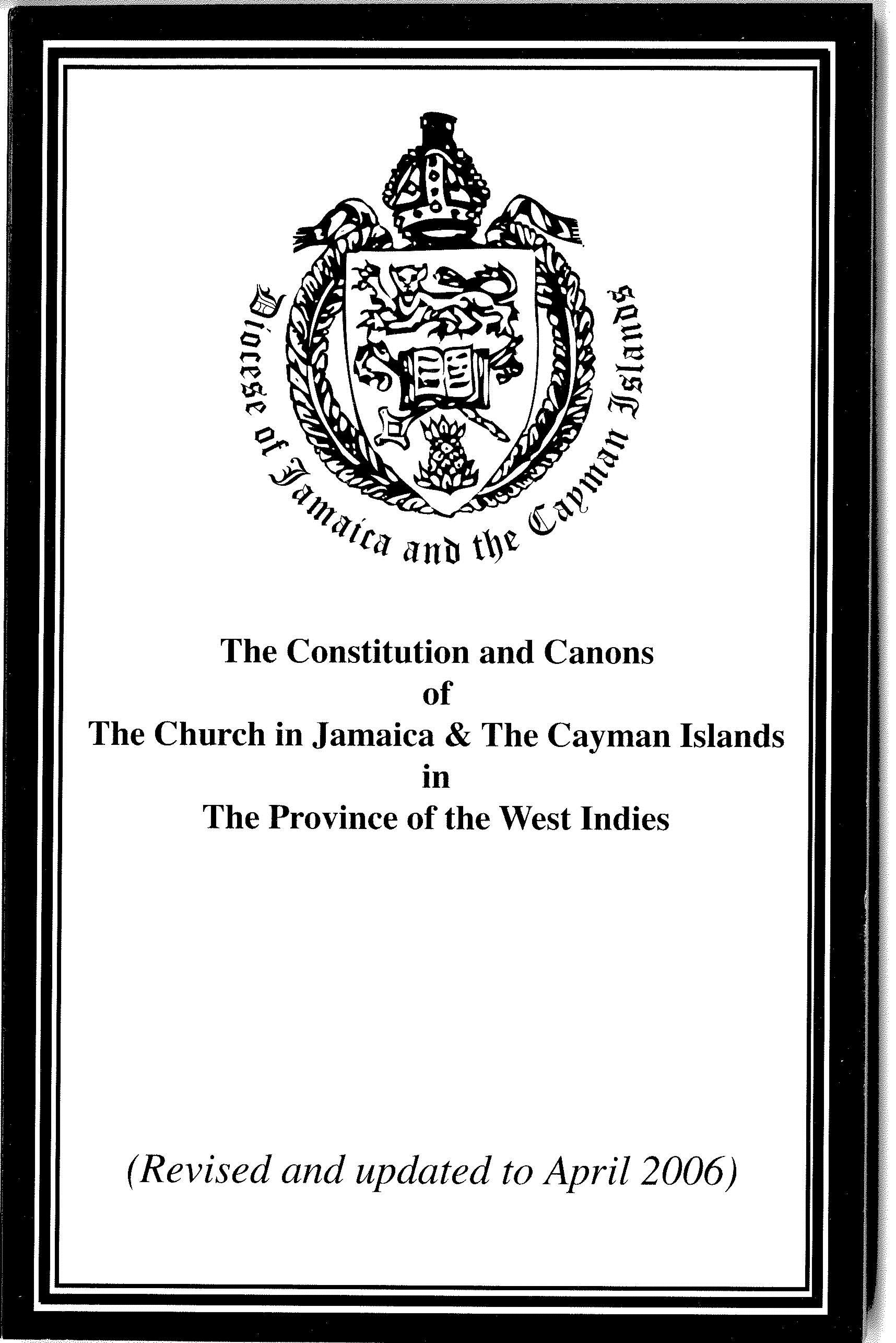 Constituion Of Cayman Islands