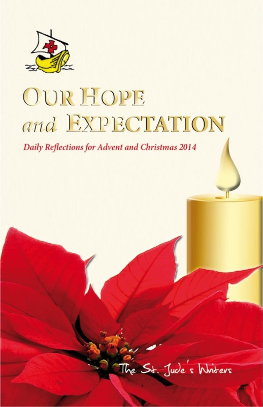 Cover.St. Jude's Advent Devotions.2014
