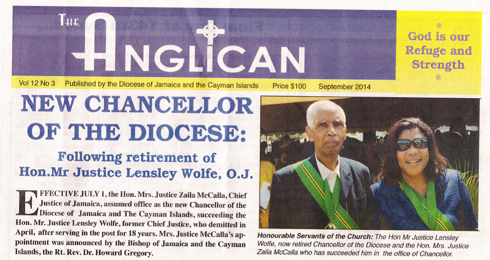 New Issue of The Anglican Out