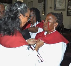 Sister Molly Walton with Associate Evangelist, Stephanie Barrett of St. Paul's Church, Chapelton