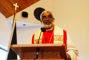 Suffragan Bishop of Kingston, the Rt. Rev. Dr. Robert Thompson, delivers the Sermon