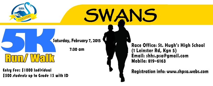St. Hugh's SWANS Run/Walk