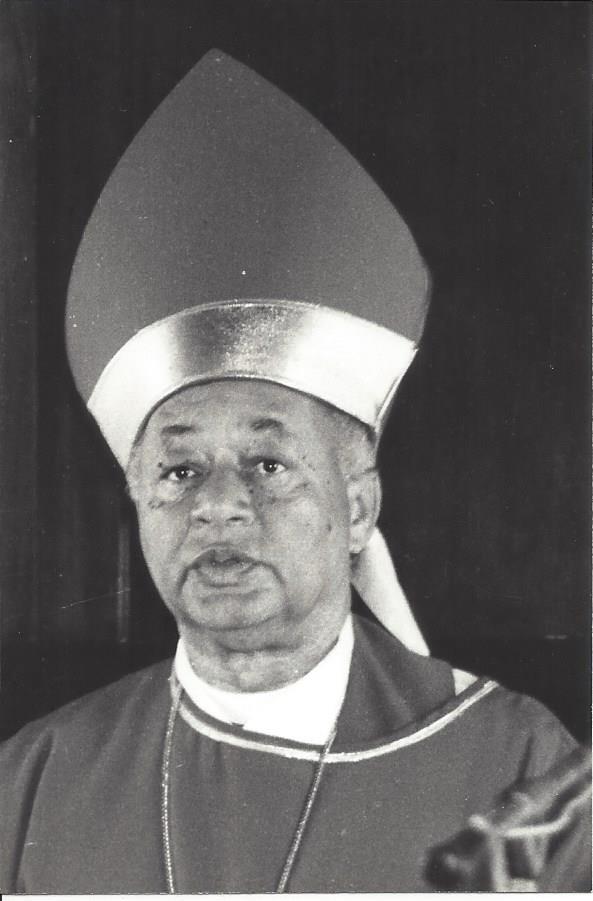 Funeral For Bishop deSouza on December 29