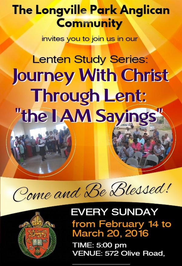 Lenten Study Series 2016