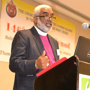 Bishop Thompson - Gives his report on JCMS