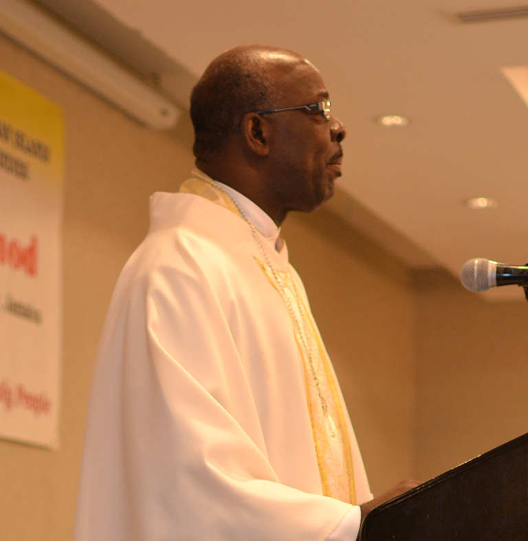 Homily Delivered by the Rt. Rev. Leon Golding Suffragan Bishop of Montego Bay at the 146th Synod of  The Diocese of Jamaica & The Cayman Islands