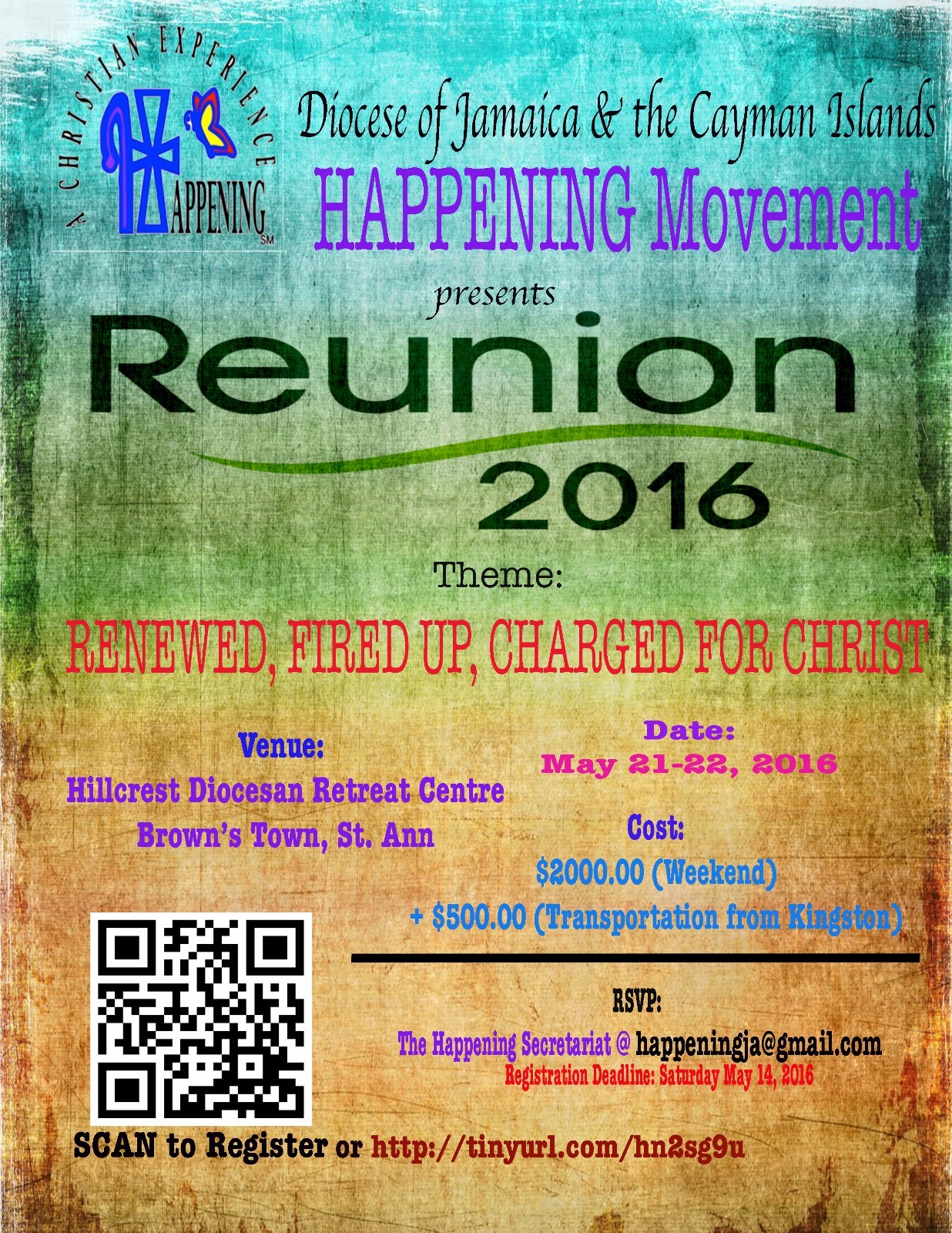 Happening Movement Reunion 2016 Flyer