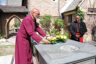 """Let us start building"" –   Bishop Gregory at Nuttall Centenary Service"