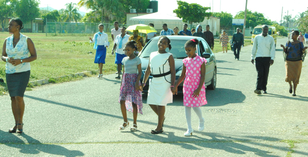 Road Safety in Focus at Portmore Deanery Day