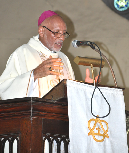 SERMON PREACHED BY THE RT. REV. HOWARD GREGORY, BISHOP OF JAMAICA & THE CAYMAN ISLANDS  AT THE INSTALLATION OF FR. GARTH MINOTT  AS A CANON OF THE CATHEDRAL  OF SAINT JAGO DE LA VEGA ON THURSDAY, SEPTEMBER 29, 2016