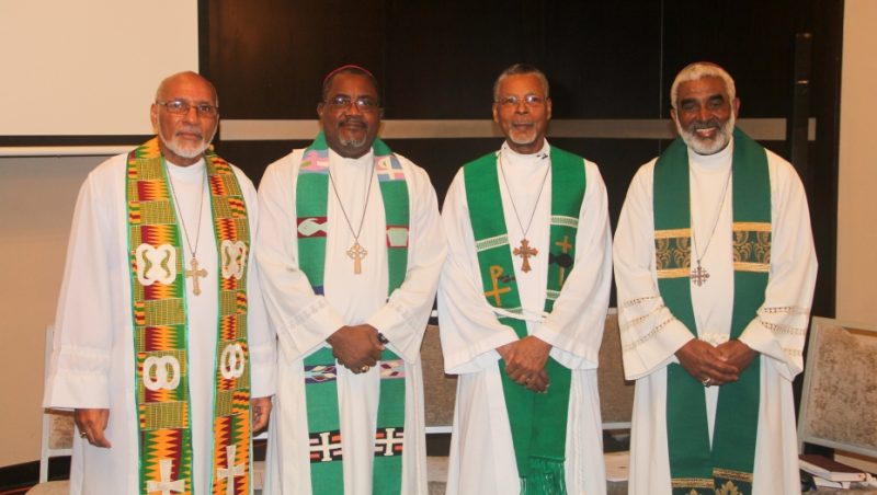 Bishops from the Province of the West Indies at the second conference hosted by Trinity Wall Street in Panama in 2016