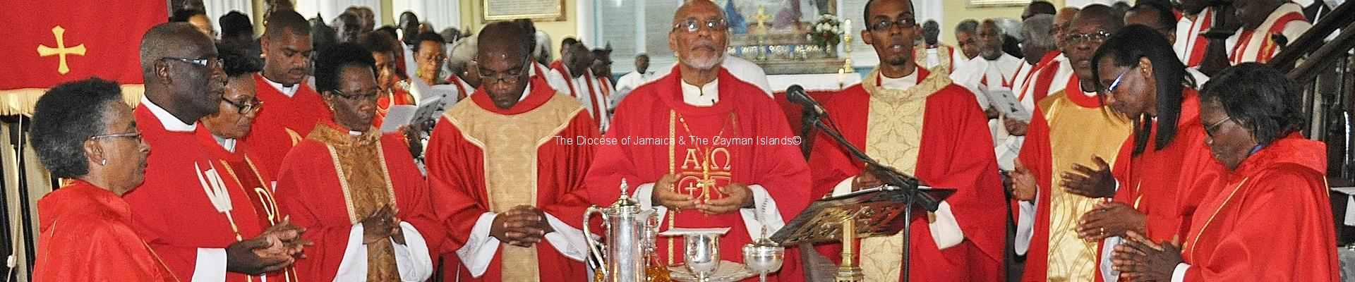 Synod Charge delivered by the Rt. Rev. Dr. Howard Gregory, Bishop of Jamaica and The Cayman Islands, at the Opening Service of the 145th Synod of the Church in Jamaica and the Cayman Islands (Anglican), held in the St. James' Parish Church, on Tuesday April 7, 2015