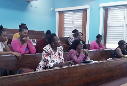 Senior Teachers' Workshop in Kingston Region