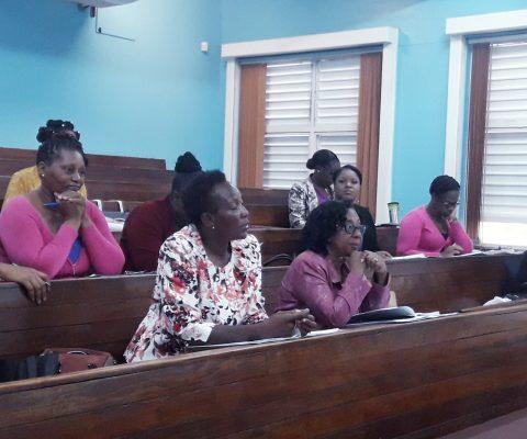 Senior Teachers' Workshop in Kingston Region