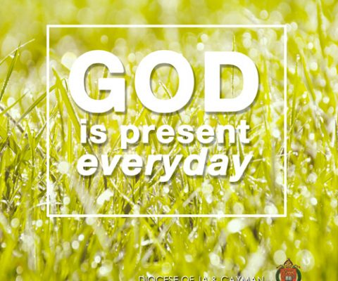 Bible Moment: God is Present-Everyday