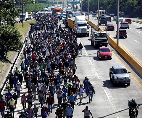 Central American Bishops appeal for Anglican Communion solidarity over migrant caravan