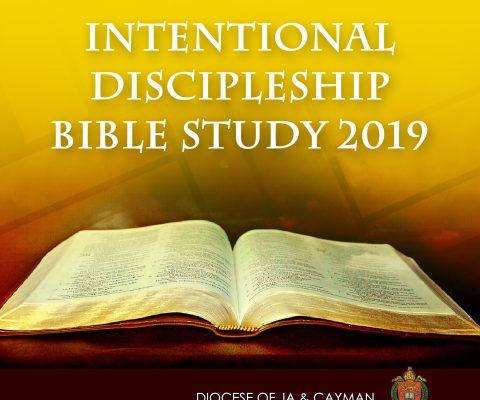 Intentional Discipleship Bible Study 2019!