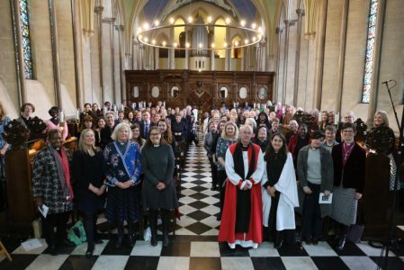 Lambeth Palace holds service celebrating 25 years of female priests in the Church of England