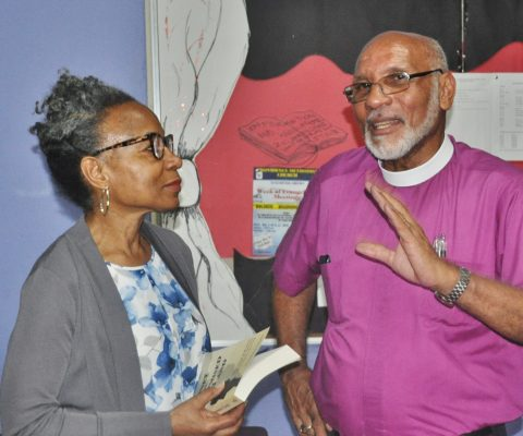 Book with Neville deSouza Synod Charges Launched