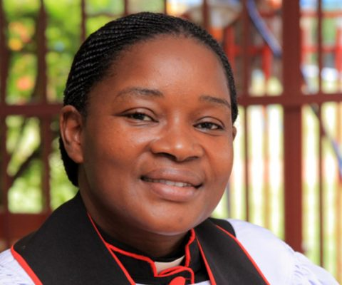 Uganda's first female Cathedral provost takes up her post