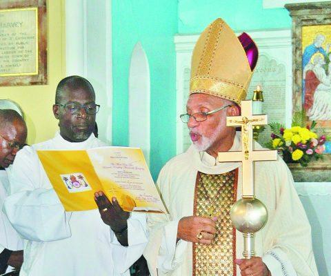 Archbishop Gregory Receives Symbols of Leadership