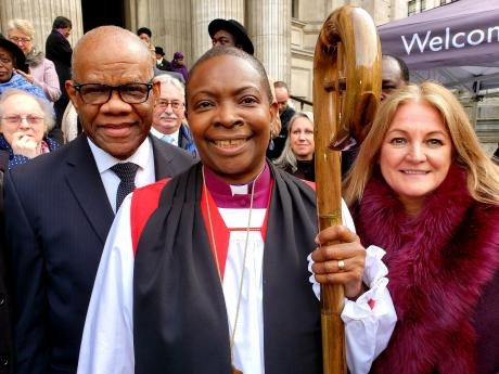 Rose Hudson-Wilkin consecrated as Bishop of Dover at St Paul's Cathedral, London