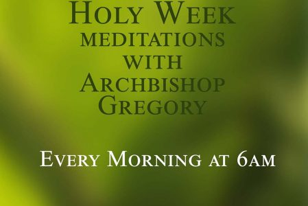 Holy Week Meditations
