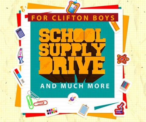 Clifton Boys' Home: Supplies Drive