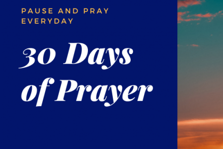 30 Days of Prayer Nov 2020