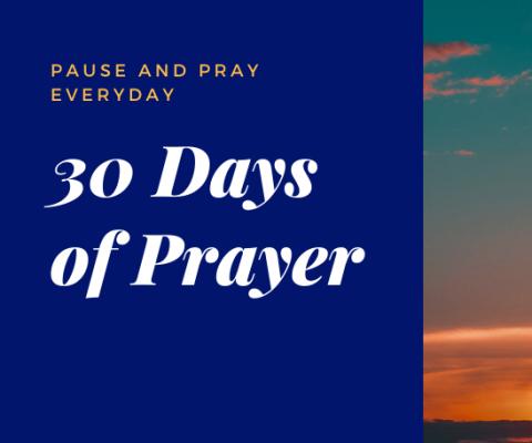 30 Days of Prayer Nov 2020