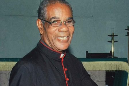 Rev. Canon Ernle Gordon Dies