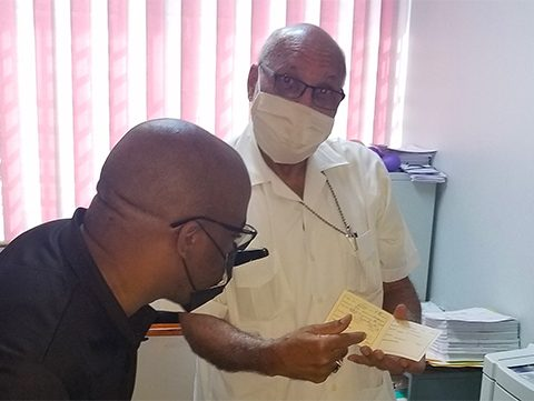 Archbishop Howard Gregory Receives COVID-19 Vaccine
